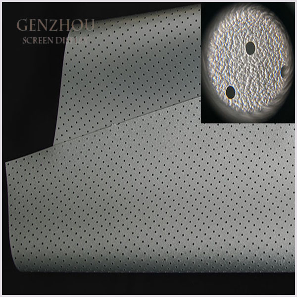 MFS1-- 3D Silver Perforating (2.2) Acoustically Transparent Fabric