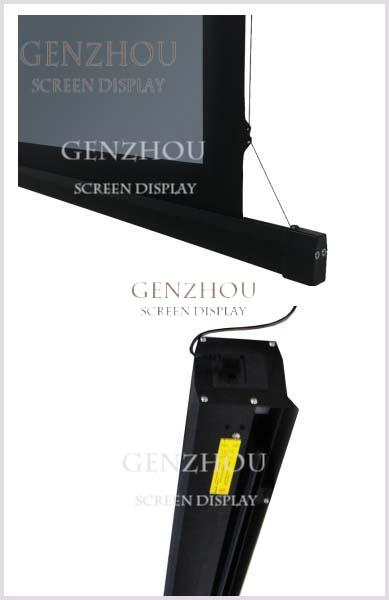 8K Long Throw ALR Motorized Projection Screen