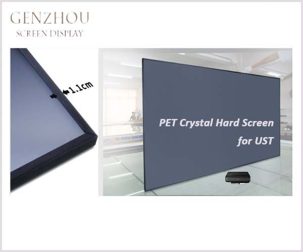 UST ALR PET Crystal Hard Screen (Ultra Short Throw Ambient Light Rejecting Projector Screen PET Crystal Hard Screen)