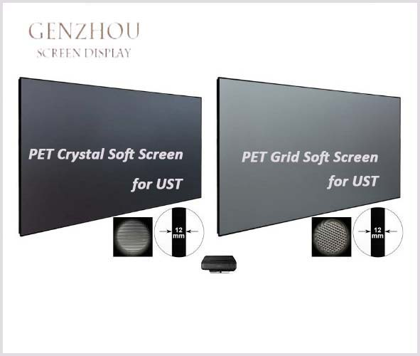 UST ALR PET Crystal Soft Screen (Ultra Short Throw Ambient Light Rejecting Projector Screen PET Crystal Soft Screen)