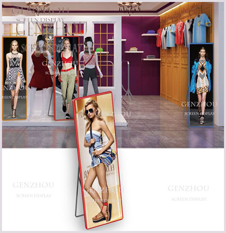 G- Commercial LED Poster  Floor-Standing