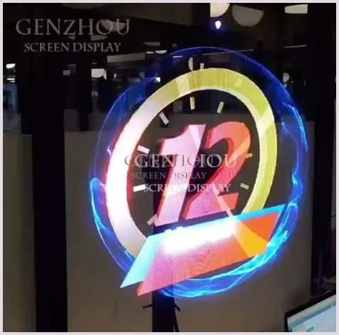 42 cm 3D Hographic LED Fan Player with SD card