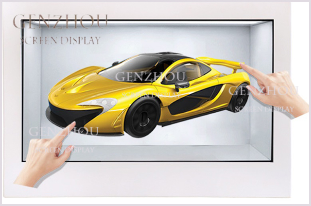 Touch Transparent LCD Display Box