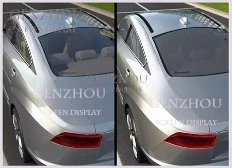 Car back window Elecctric Switchable film for car back  window