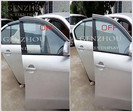 Car Window switchable smart film for car window