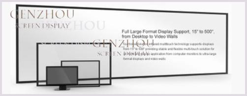 IR/Infrared multi touch screen frame