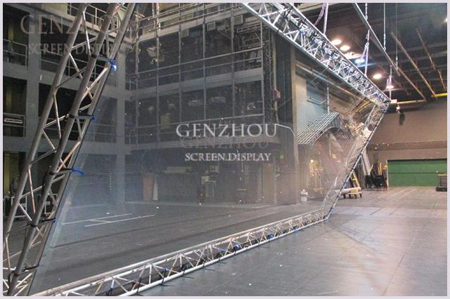 Pepper Ghost Holographic Reflection Film 45angle for stage show