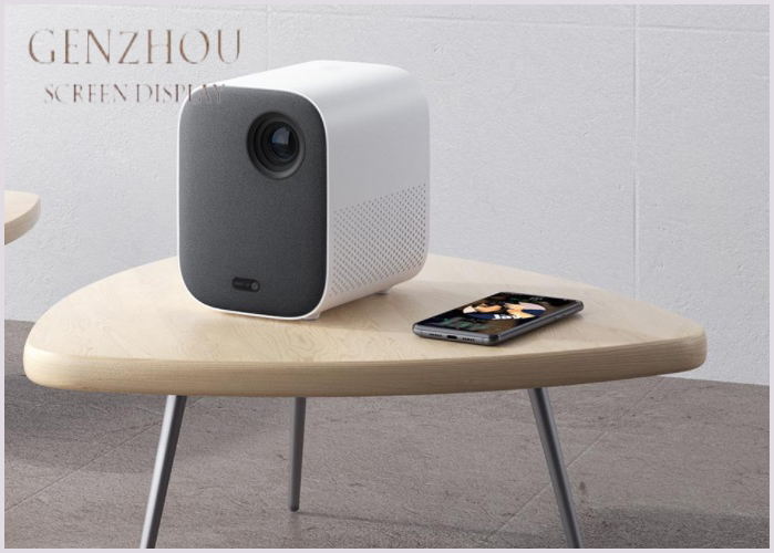xiaomi  Mini portable Projector Mount Projection 1080p projector 500 ANSI lumens MIUI TV HDR10 2.4G / 5G WiFi  DLP Portable 1920*1080 Support 4K Video 3D WIFI Proyector LED Beamer TV Full HD for Home