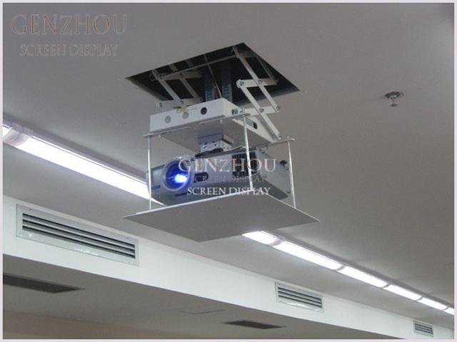 Ceiling Mounted 200cm automated projector lift , motorised projector lift 110v - 240v