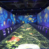 Holographic restaurant, banquet hall, wedding