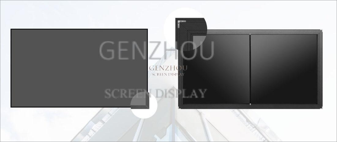 Ultra short ALR fixed frame projection screen  laser tv screen